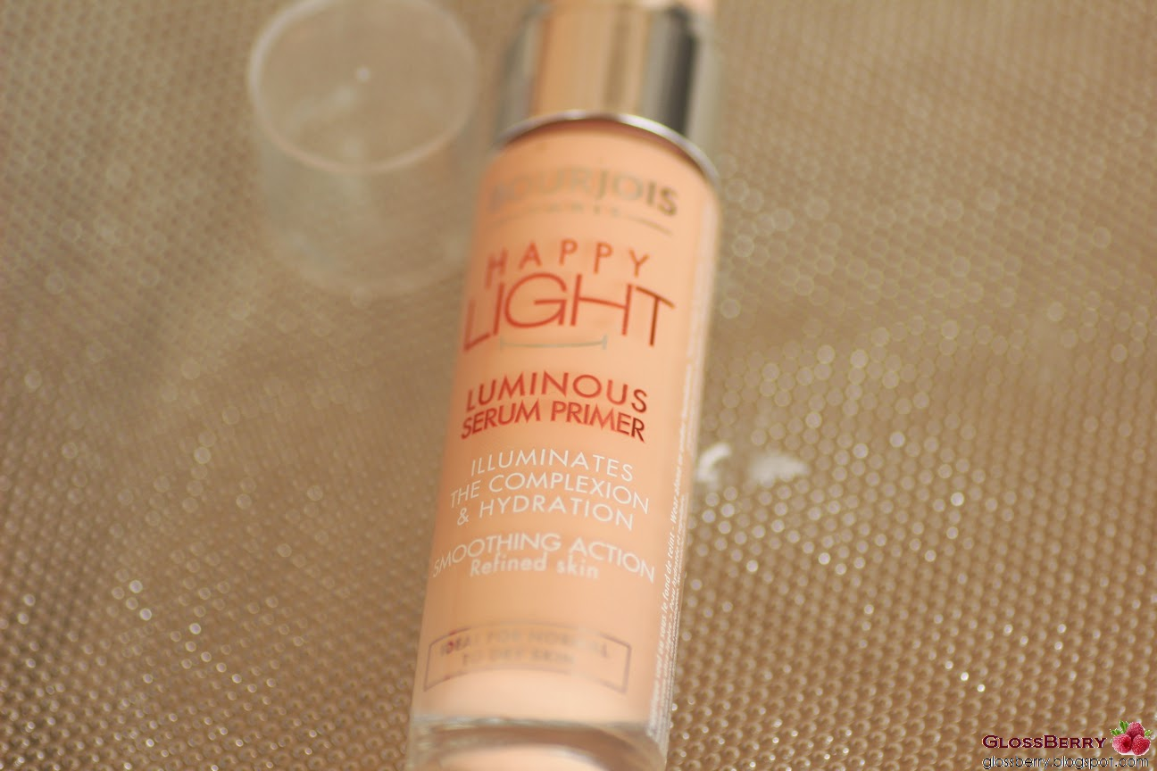 Bourjois Happy Light Serum Primer פריימר בורז'ואה סקירה review