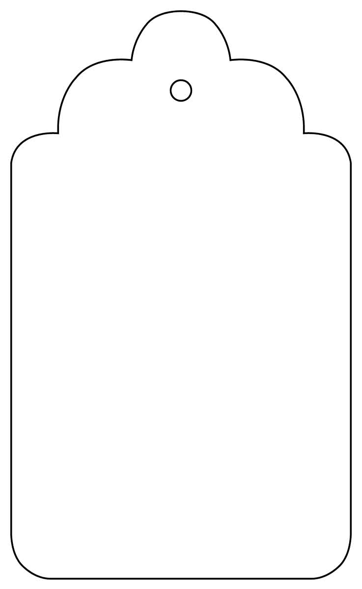 Influential image throughout printable gift tag template