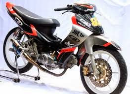 Modifikasi Yamaha Jupiter Z Body Road Race