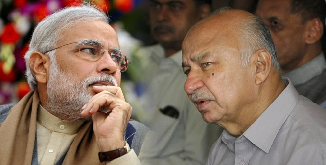 Narendra Modi and Shinde
