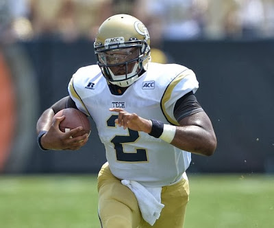 Vad Lee is an ex-Georgia Tech quarterback, transferring to another school.