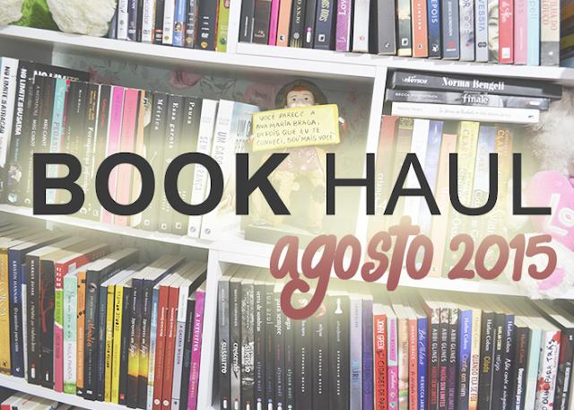 Livros que Recebi em Agosto de 2015