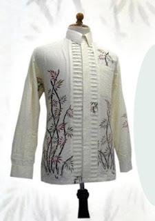 Model Baju Batik Pria Sederhana