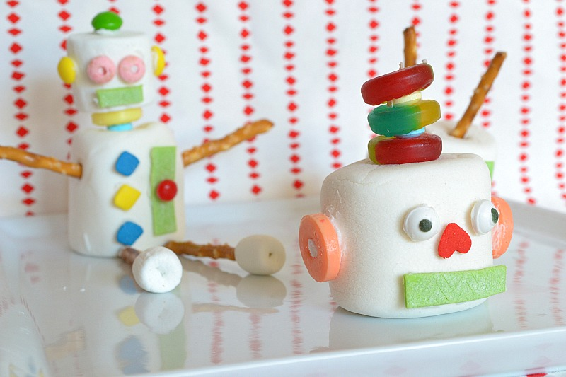 Top 12 of 2012 marshmallow robots