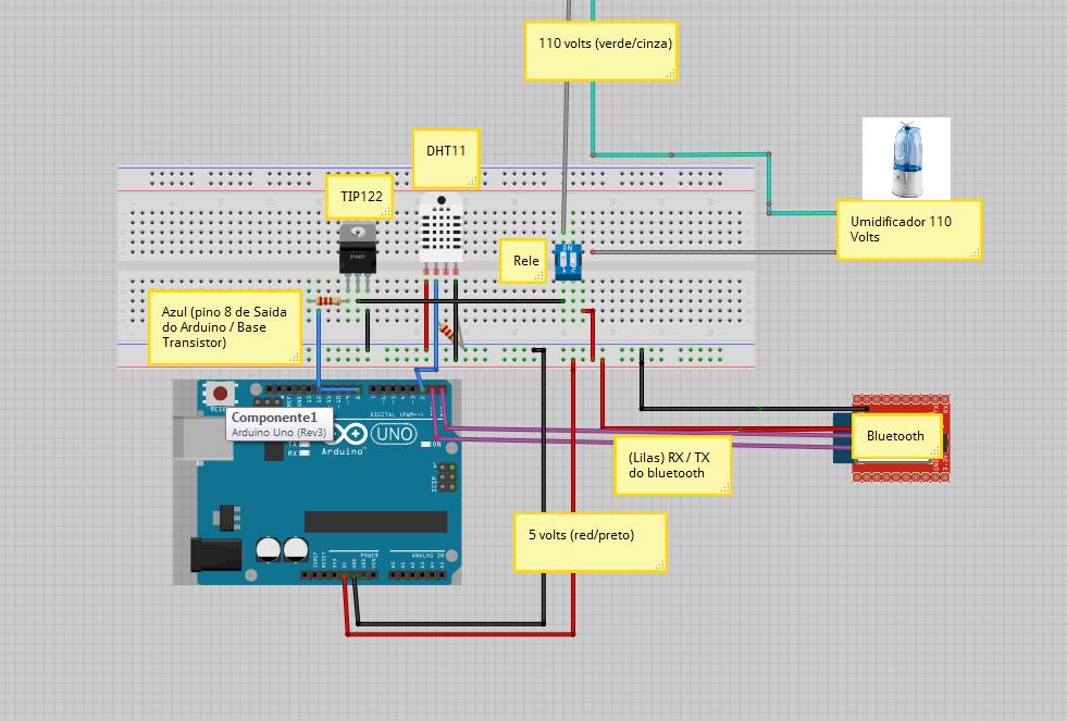 Tecnologia eletrônica ciência arduino app android