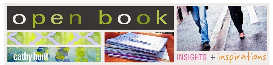cathy hunt | blog  | open book