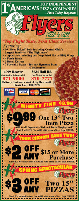 Flyers Pizza Coupons Galloway  Bath And Body Works Printable Coupon