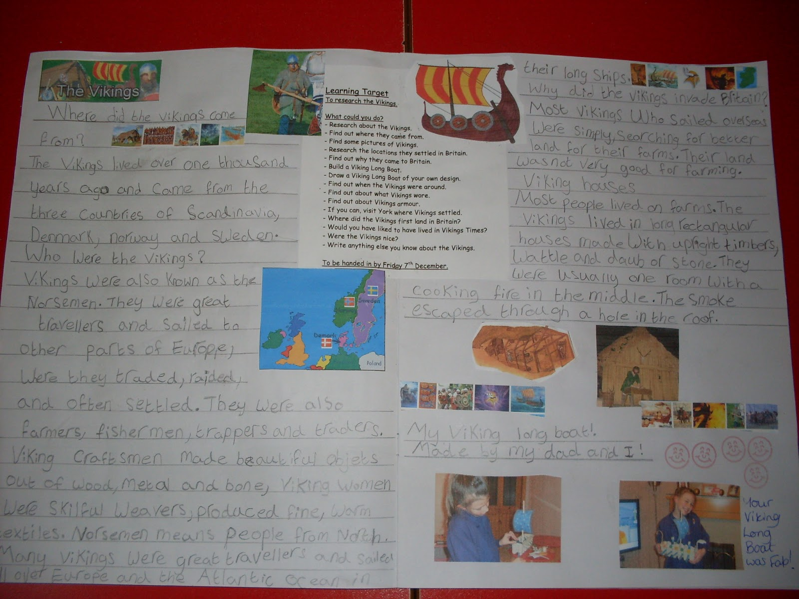 Year 3 Blog spot: Viking Learning Logs