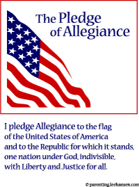 Exceptional image throughout pledge of allegiance in spanish printable