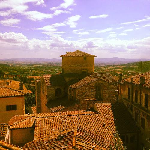 Pastanjauhantaa Perugiassa