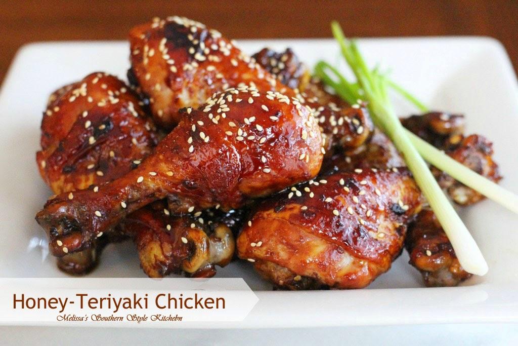 Honey-Teriyaki Chicken Recipe — Dishmaps