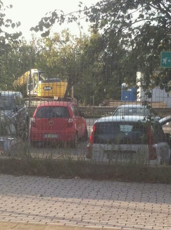 Il parcheggio di Casal Bernocchi sulla Roma-Lido. A che punto sono i lavori?