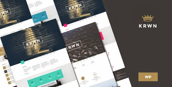 download Krown - Responsive Buniess WordPress theme
