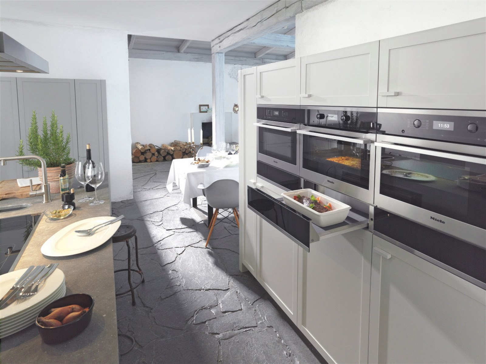Time2design custom cabinetry and interior design kitchen for Miele kitchen designs