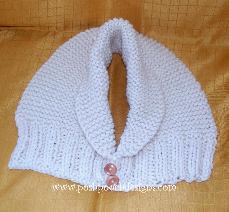 Posh Pooch Designs Dog Clothes: Aran Chunky Scarf Knitting Pattern to match t...