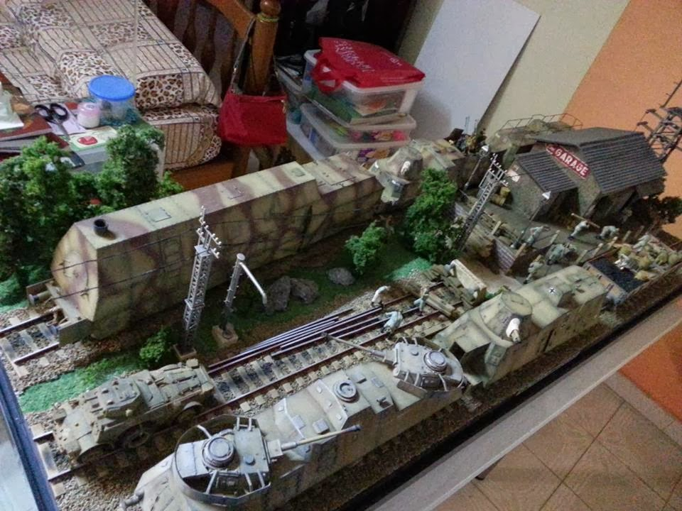 Bens train hobby next german armoured train models