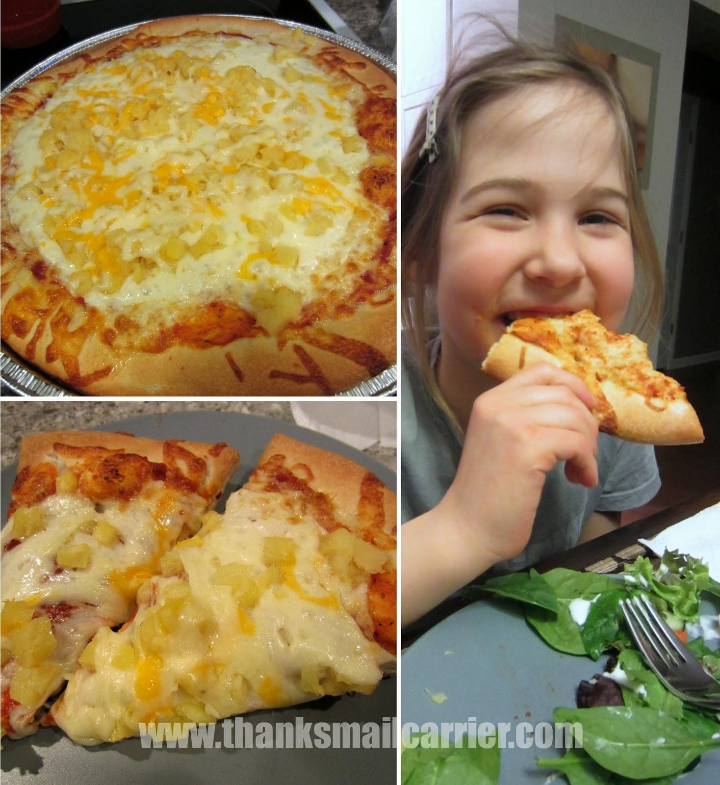 Papa Murphy's fresh pan pizza review
