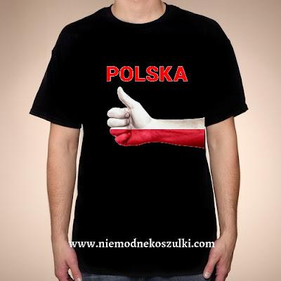 Koszulka Polska kciuk
