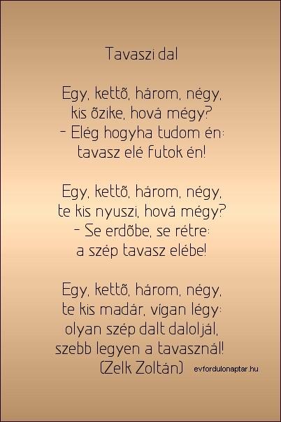Zelk Zoltán - Egy, kettő, három