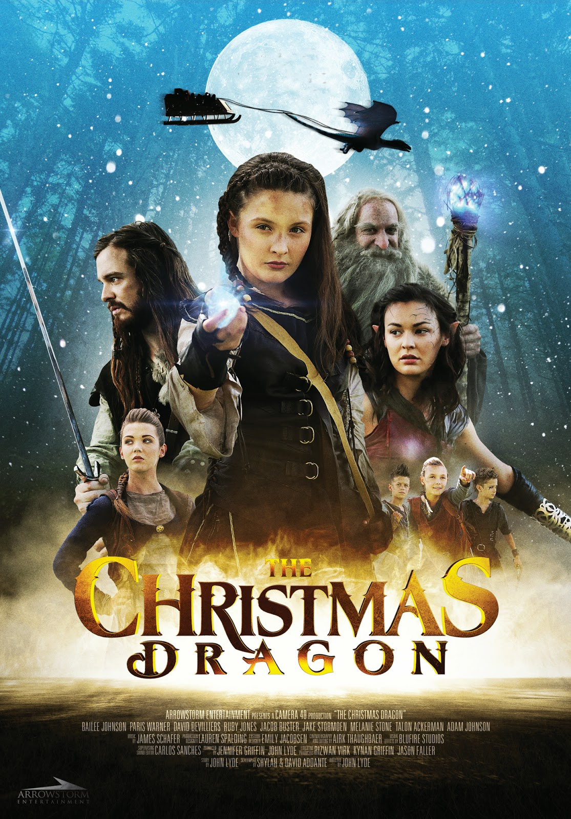 The Christmas Dragon (2014) ταινιες online seires oipeirates greek subs