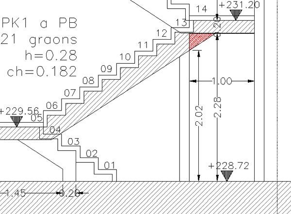 La escalera proyecto de ejecuci n y puesta en obra ii for Planos de escaleras de hierro