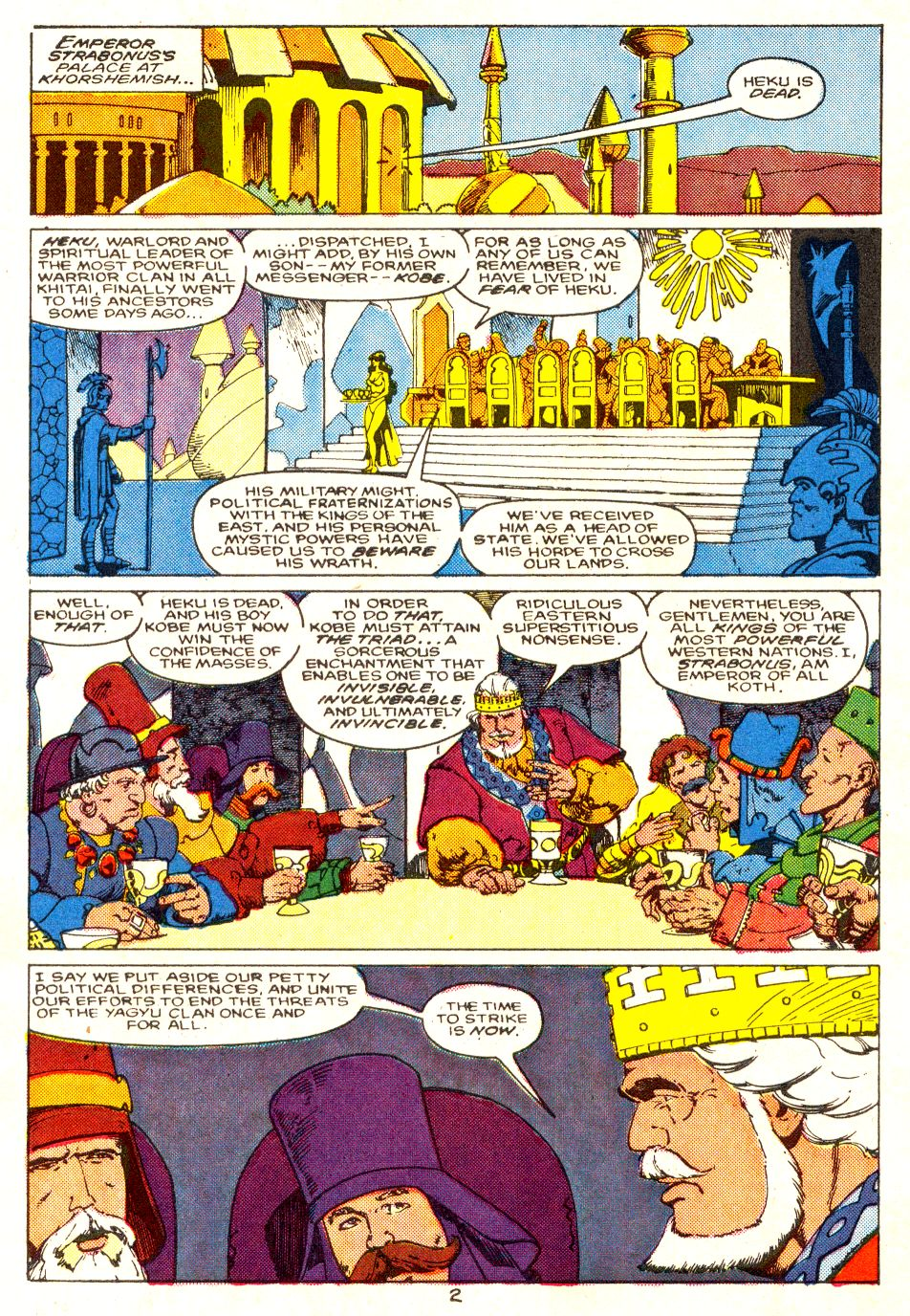 Conan the Barbarian (1970) Issue #207 #219 - English 3