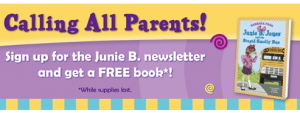 Junie B. Kids' Reading Club