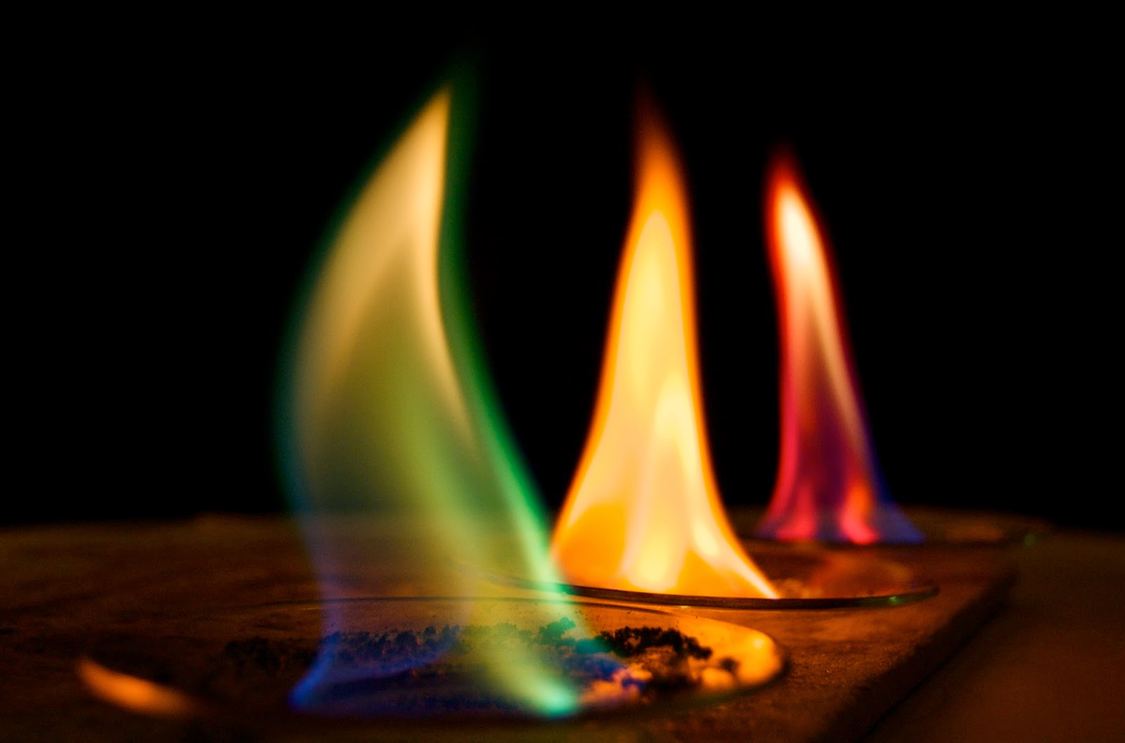 flame test to observe the flame Objective: using a flame test and a spectroscope, determine the emission line spectrum of various known ions then determine the identity of 2 unknown ions using a flame test and the emission line spectra from the known ions.