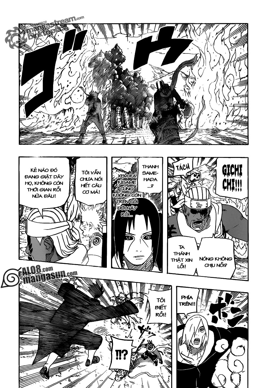 Naruto chap 549 Trang 5 - Mangak.info