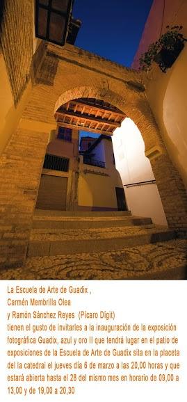 Exposición fotográfica: Guadix, Azul y Oro II