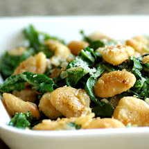 Sauteed Butter Beans and Swiss Chard