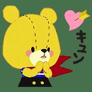 TINY☆TWIN☆BEARS Animation Stickers