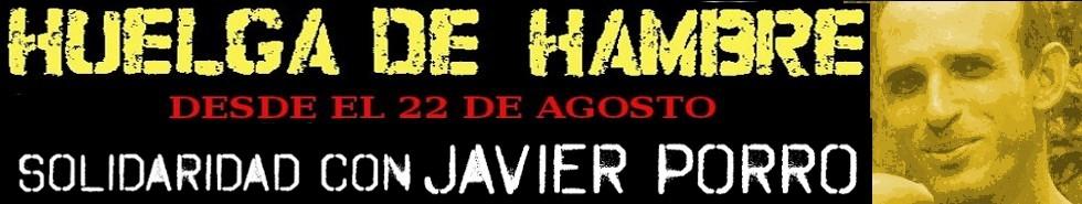 Solidaridad con Javier Porro Viera