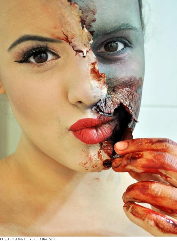 Logo maquillajes para halloween zombies y otra gente - Como maquillarse de zombie ...