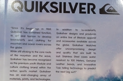 Quiksilver The Fifty50 Men's Watch for a more modern look
