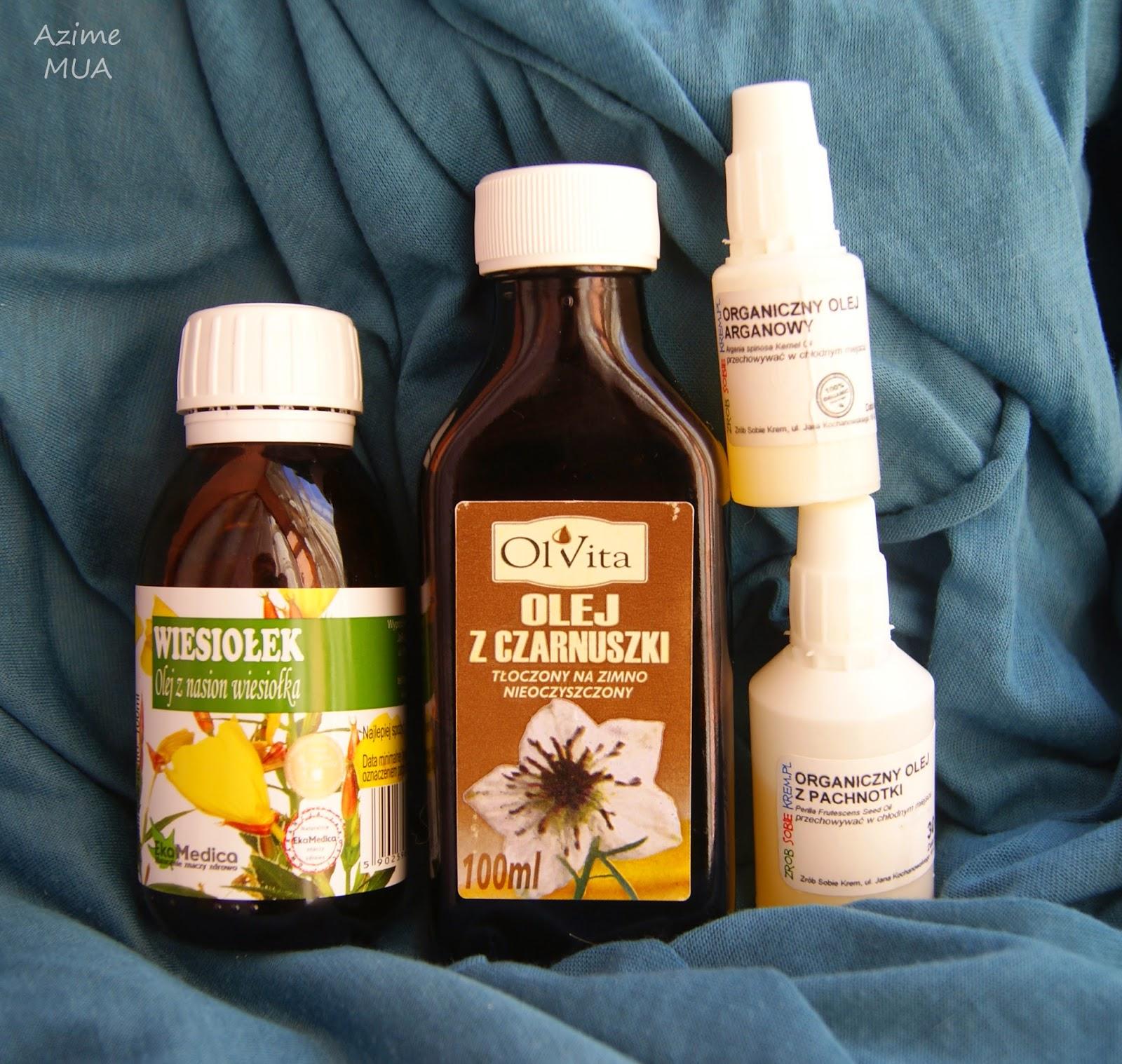 [146.] Moja mieszanka olejów do cery tłustej z tendencją do trądziku.