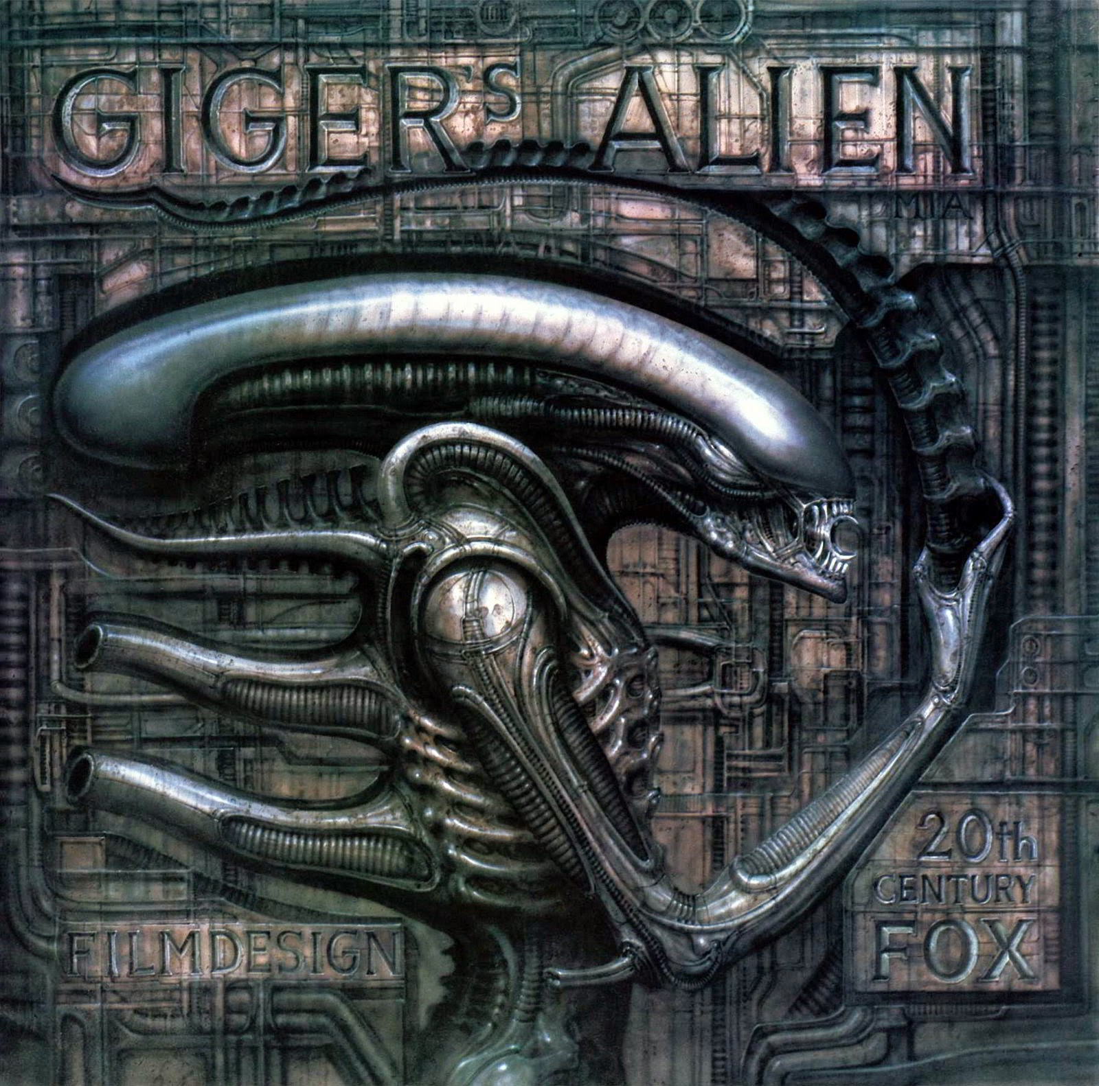 gigers alien art