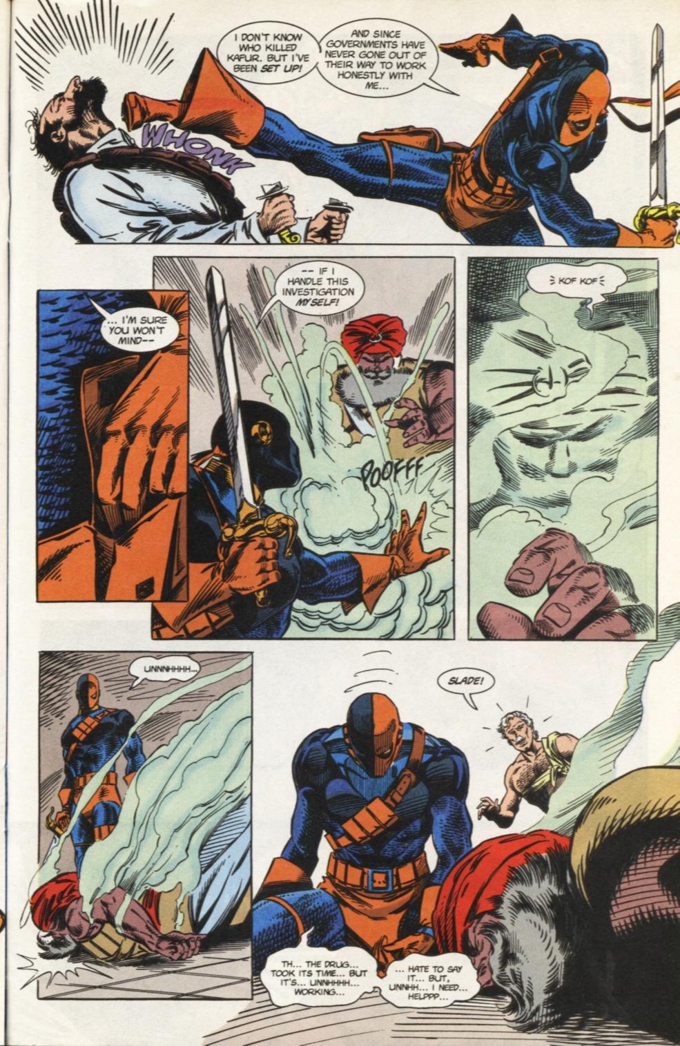 Deathstroke (1991) Issue #31 #36 - English 18
