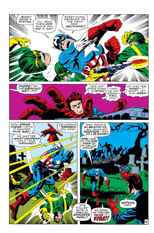 Captain America (1968) Issue #113 #27 - English 17