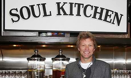 "Reflection on Bon Jovi's Charity Restaurant ""The Soul Kitchen""."