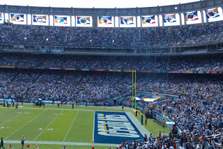 San Diego Chargers at Qualcomm Stadium