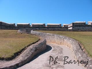 paysage du Mexique Campeche Yucatan fort San Miguel blog voyage photo