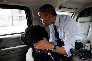 President Obama and Bo