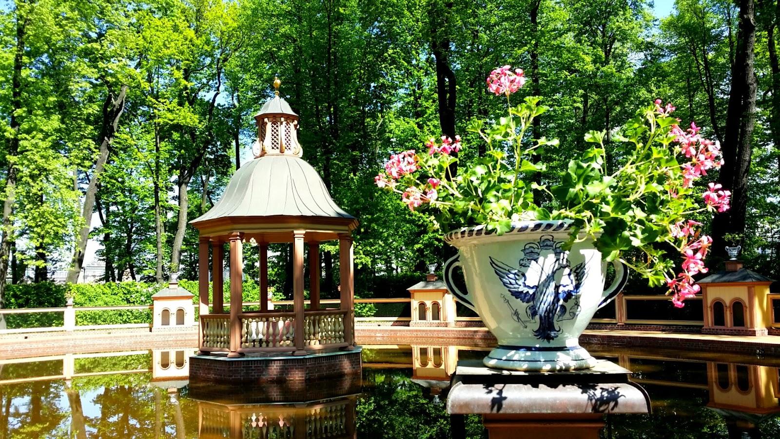 marca rusia el jard n de verano de san petersburgo