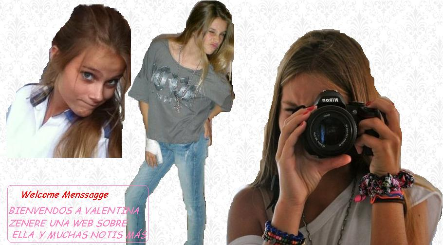 //Site Oficial of | Valentina Zenere//
