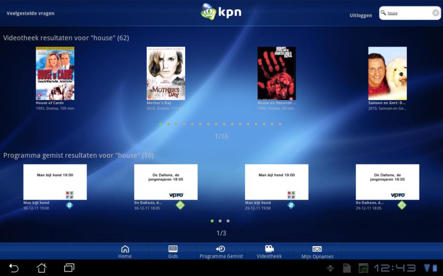 Kpn Komt Met App Voor Interactieve Tv Hd Technieuws Alles Over