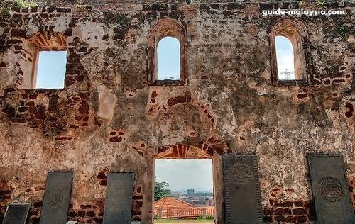 ماليزيا بالصور: حصن القديس جون (مالاكا التارخية) Malacca+St+John+Fort
