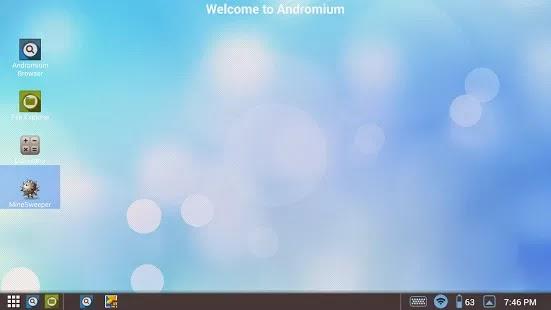 Andromium OS apk