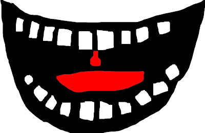 laughing mouth