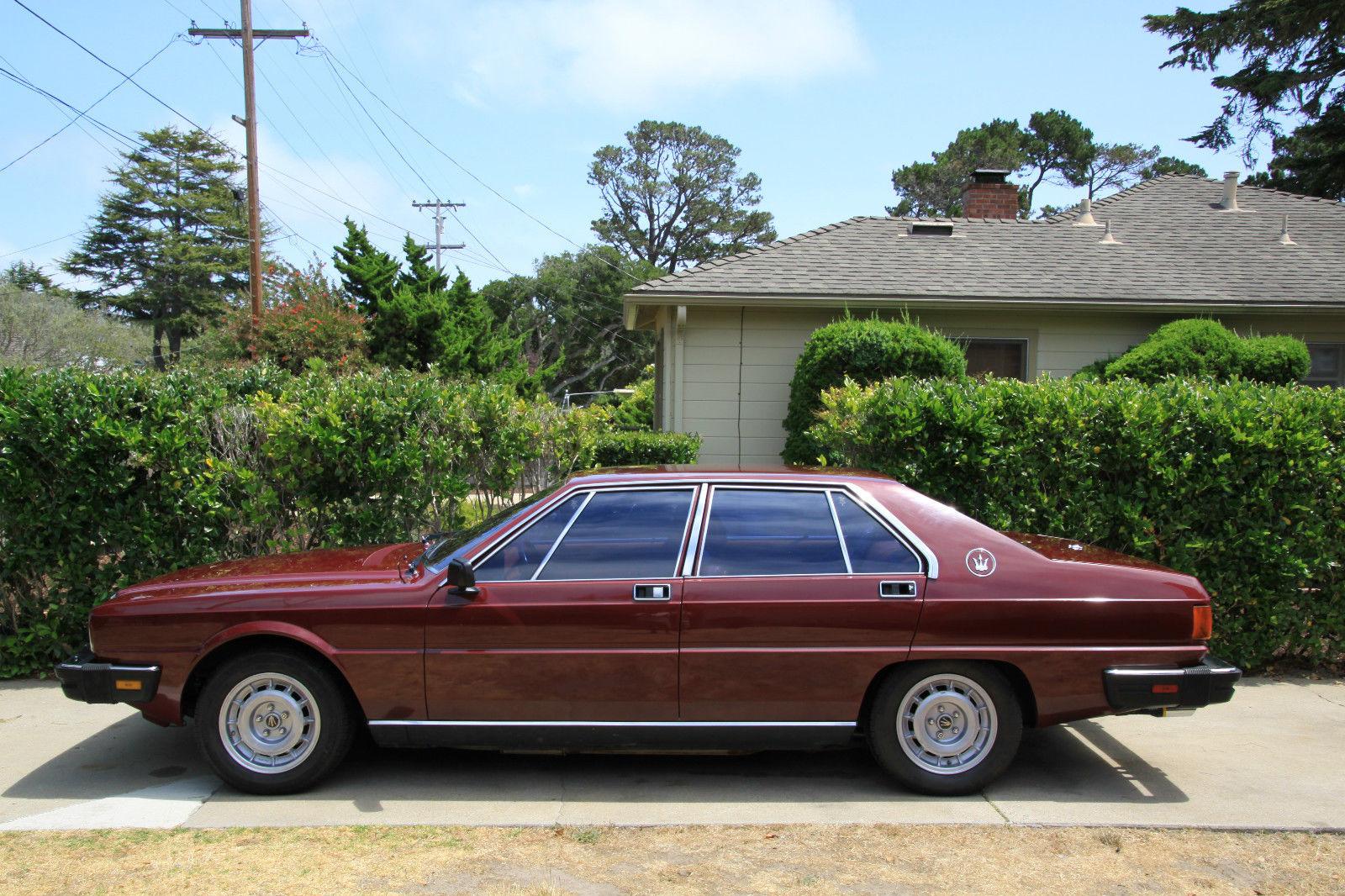 1982 maserati quattroporte